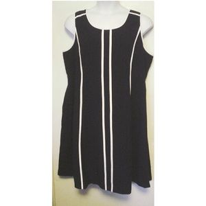 Catherine's Black White Tank Dress